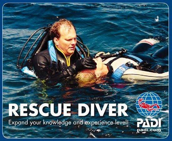 Real Divers Pattaya PADI Rescue course www.divingthailand.com